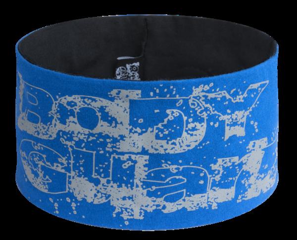 Wende Stirnband blau-silber