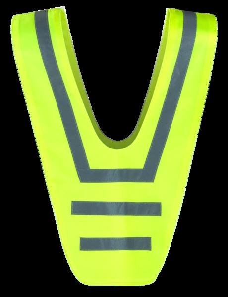 Reflektierender Überwurf gelb